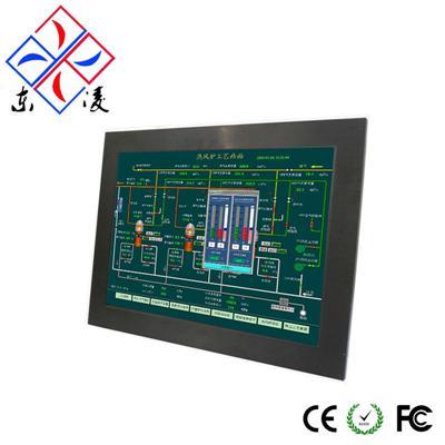 工业平板电脑 工业平板电脑通常采用嵌入式安装