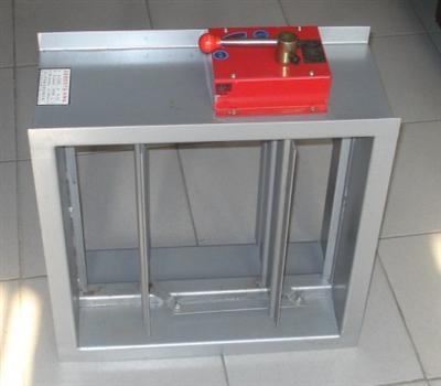 产品展示 > 防火阀制作       防火阀的安装对于排烟风机是有很大的图片