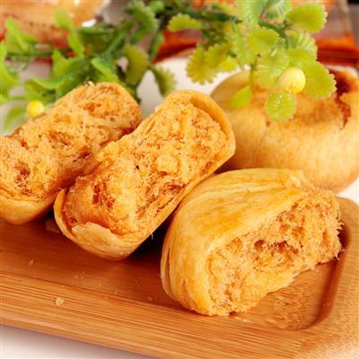 饼加盟_金丝肉松饼加盟制作尽在纽氏美食