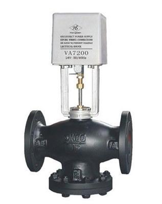 va7200电动二通阀/比例积分调节阀图片