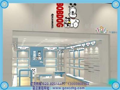儿童服装店装修设计童装展柜