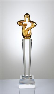 舞蹈比赛奖杯 广州街舞比赛奖杯 水晶奖杯图片