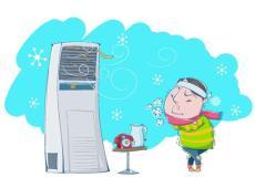 5个动作有助预防空调病