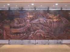 铜浮雕北京 玻璃钢浮雕