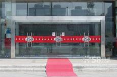 西安玻璃门维修更换玻璃五金拉手地簧