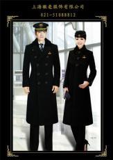 呢子大衣定做*航空保安呢子大衣