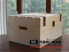 新款紅酒6支木箱 定做價格高檔包裝禮品木箱