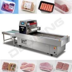 連續式冷鮮肉熟食氣調包裝機