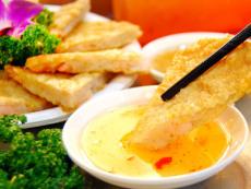 上海正宗臺灣小吃食材月亮蝦餅