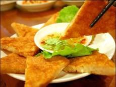 杭州台湾特色菜馆餐厅必备食材台湾月亮虾饼