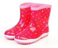 揭陽佳韻女款三色底時尚雨鞋