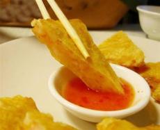 台湾人气美食食材月亮虾饼批发