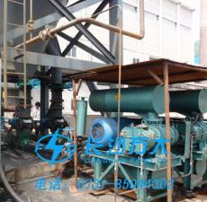 石油焦粉輸送與噴吹燃燒系統