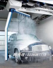 镭豹360电脑洗车机实现无人值守24小时洗车