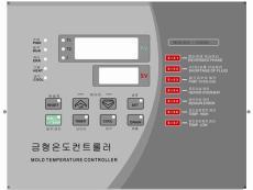 机械控制面板