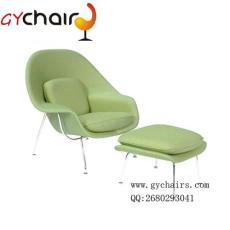 子宮椅 玻璃鋼羊毛絨休閑躺椅 午休椅