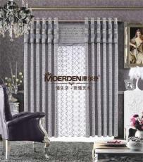 定做臥室窗簾高檔飄窗 窗簾布藝品牌加盟