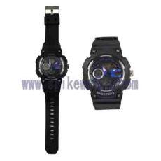 时尚指针数字双显运动手表多功能运动手表