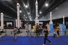 航天科技展览馆模型雕塑厂家
