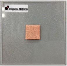 铜泡沫基三维单层石墨烯