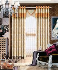 定制卧室窗帘布艺品牌加盟 办公室窗帘颜色