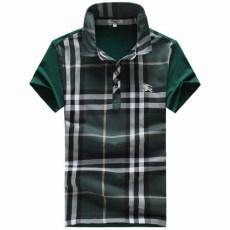 男裝絲光棉T恤定制 男式翻領短袖POLO衫定做