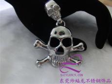骷髏頭吊墜 鈦鋼飾品