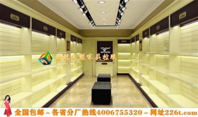 装修鞋架鞋柜效果图大全鞋店展柜设计1226