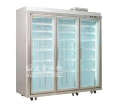 便利店冷柜玻璃門上有霧是什么原因