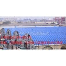 供應高強度彩鋼板無梁拱弧形屋面彩鋼板