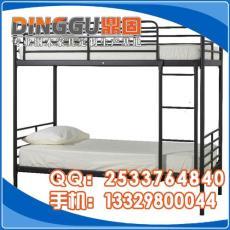 锌钢铁床通城员工双层床定制厂家学生上下床