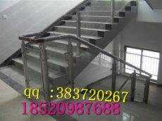 專業加工高檔不銹鋼夾玻璃樓梯立柱廠家價格