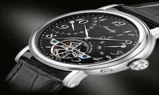 奥威时手表镂空双飞返飞轮男表BG319