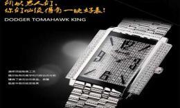 奥威时手表超薄防水石英男表PG615S