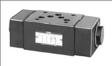 油研YUKEN叠加式减压阀MRP-01-B-30 MRP-01-