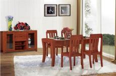 天津實木家具價格餐桌 餐邊柜