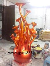 深圳玻璃钢抽象雕塑