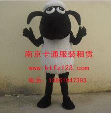 羊年卡通人偶 羊生肖卡通服装 小羊肖恩