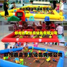 云南保山廣場充氣沙灘池經營賺錢嗎