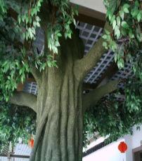 鶴崗雙鴨山假樹仿真榕樹