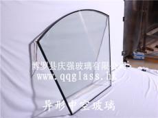 扇形异形防雾中空除霜玻璃