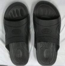 山东青岛北京生产SPU/PVC防静电拖鞋静电刷