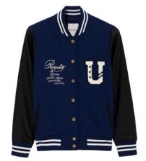韩版学生棒球衫 运动服定制 大学生班服棒球