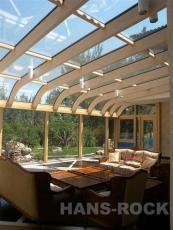 德国原装进口铝木复合阳光房