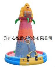 夺宝奇兵大型充气攀岩儿童游乐设备
