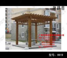 木制廊架公園 售賣大型戶外家具 廣場木制