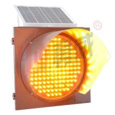 太陽能黃閃燈沈陽交通警示燈