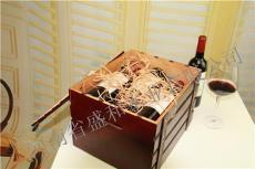 遼陽紅酒木盒包裝廠家
