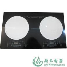 浙江臺式平凹面全陶瓷外殼按鍵3.3KW電磁爐