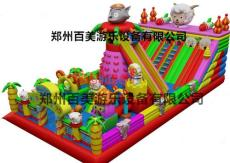浙江羊年新款充气滑梯/大型充气滑梯定做
